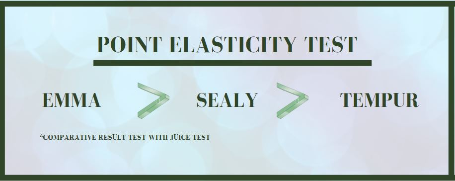 Sealy point elasticity test